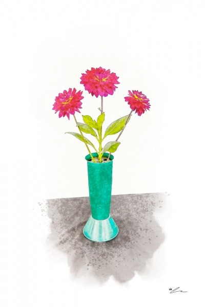 Flowers For A Table