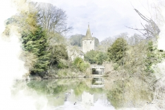 Church Across The River